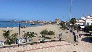 Playa de Las Vistas in Los Cristianos